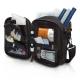 Sac à bandoulière isotherme | Pour personnes diabétiques | Noir et orange | FIT´S | Elite Bags - Foto 4