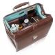 Sac médical | Cuir et polyamide marron | TREND'S | Elite Bags - Foto 3