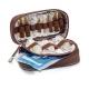 Sac médical | Cuir et polyamide marron | TREND'S | Elite Bags - Foto 5