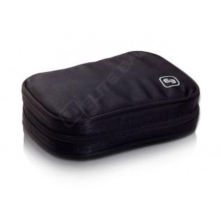 Ampoulier isotherme pour 50 ampoule   En toile serge   Couleur noir   Modèle PHIAL'S   ELITE BAGS