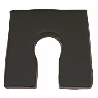 Coussin anti escarres fer à cheval en mousse viscoélastique | Premium | Oreiller respirant | Surface mouillable