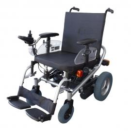 Fauteuil roulant électrique   Handicapés   Acier   Avec moteur   Auton. 30 km   24V   Batterie longue durée   Orión   Mobiclinic