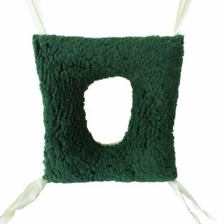 Coussin anti escarres | En forme carré | À double face | 44 x 40 x 12