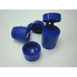 Pilulier coupeur-broyeur 3 en 1 | Couleur bleu