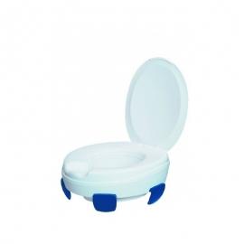 Rehausseur WC   Rehausse wc avec abattant   Élève jusqu'à 11 cm   4 Clips   Modèle Clipper III