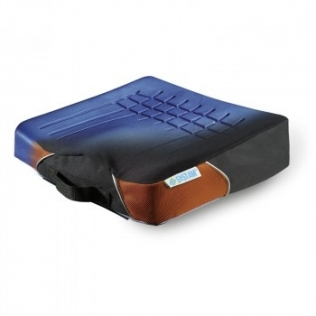 """Coussin anti-escarres ergonomique """"Viscoflex Plus""""   Forme carré   Mousse à mémoire de forme"""