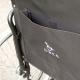 Fauteuil roulant de transit | Chaise roulante légère en acier et pliable | Largueur de siège 45 cm - Foto 3