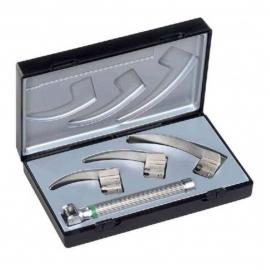 Kit de laryngoscope Ri-Modul   Lumière à vide XL 2.5V et lames 0, 1 et 2   Mod. Macintosh F.O. bébé   Riester (8090)