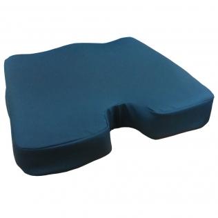 Coussin viscolélastique Ergotech de haute densité | Prévention anti-escarres et soulagement de la pression | 45 x 42 x 10 cm