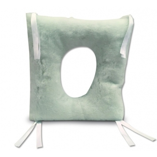 Coussin amortisseur anti-escarres | Forme carrée avec trou | Ortotex Medical