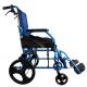 Fauteuil roulant léger | Repose-pieds et dossier | Accoudoirs rembourrés | Bleu |Pirámide | Mobiclinic - Foto 4
