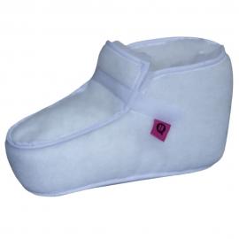 Paire de bottes anti-escarres | Texture douce | Couleur Blanc | 40/43 cm Taille M