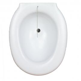 Bidet portable | A fixer sur les toilettes | Avec bouchon | En plastique