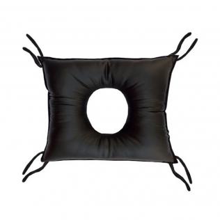 Coussin anti escarres | En forme carré avec un trou | En polyuthérane | 46 x 44 x 10