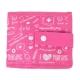 Organiseur de matériel infirmier pour blouse   Rose à motifs   Keen's de Mobiclinic   Elite Bags - Foto 3