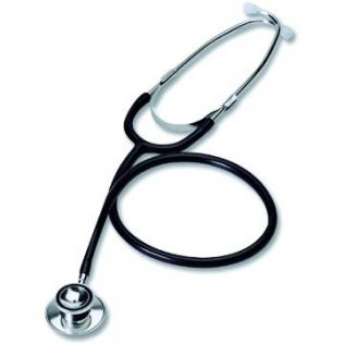 Stéthoscope | Double cloche pour adultes et enfants | Couleur noir | Acier