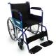 Fauteuil roulant pliable | Orthopédique | Léger| Bleu | Alcázar | Mobiclinic - Foto 1