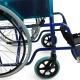Fauteuil roulant pliable | Orthopédique | Léger| Bleu | Alcázar | Mobiclinic - Foto 4