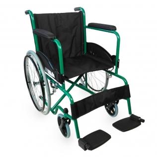 Fauteuil roulant | pliable | orthopédique | léger | vert | Alcazaba | Mobiclinic