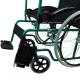 Fauteuil roulant | pliable | orthopédique | léger | vert | Alcazaba | Mobiclinic - Foto 5