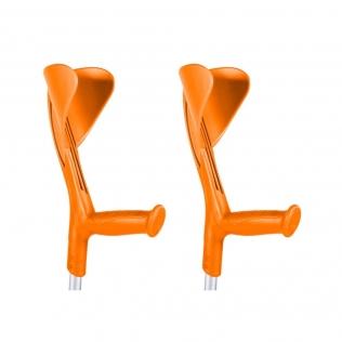 Béquilles 2 uds orange   Aluminium   Evolution