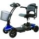 Scooter électrique pour personne âgée | 4 roues | Compact et démontable | Auton. 10 km | 12V | Bleu | Virgo | Mobiclinic - Foto 1
