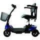 Scooter électrique pour personne âgée | 4 roues | Compact et démontable | Auton. 10 km | 12V | Bleu | Virgo | Mobiclinic - Foto 2