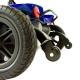 Scooter électrique pour personne âgée | 4 roues | Compact et démontable | Auton. 10 km | 12V | Bleu | Virgo | Mobiclinic - Foto 8