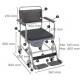 Chaise percée à roulettes | Chaise WC | Repose-pieds et accoudoirs | Modèle Cascata de Invacare - Foto 2