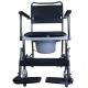 Chaise percée à roulettes | Chaise WC | Repose-pieds et accoudoirs | Modèle Cascata de Invacare - Foto 3