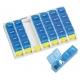 Pilulier semainier | 4 prises quotidiennes | Organisateur de médicaments | Couleur bleu - Foto 1