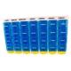 Pilulier semainier | 4 prises quotidiennes | Organisateur de médicaments | Couleur bleu - Foto 2