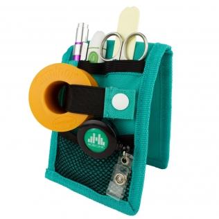 Organiseur / pochette d'infirmier | Vert | MINIKEEN'S | Mobiclinic