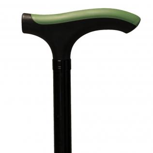 Bâton Muletilla aluminium extensible et pliable T-Handle Advance Vert