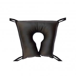 Coussin anti escarres   En forme de fer à cheval   En polyuthérane   46 x 46 x 10