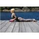 Bloc de yoga, brique de liège naturel solide pour débutants et experts en yoga, Bordeaux, 23 x 12 x 7,5 cm (1 unité) - Foto 3