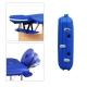 Table de massage pliante   Kinesithérapie   Bois   Revêtement similicuir   186x60 cm   Bleu   CM-01 Light   Mobiclinic - Foto 9