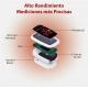 Oxymètre de pouls doigtier   Écran d'affichage OLED   Fréquence cardiaque et graphique de barres  PX-02   Mobiclinic - Foto 7