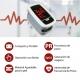 Oxymètre de pouls doigtier   Écran d'affichage OLED   Fréquence cardiaque et graphique de barres  PX-02   Mobiclinic - Foto 8