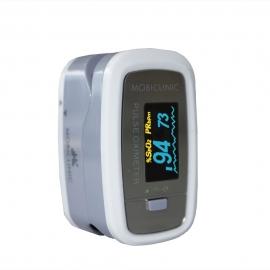 Oxymètre de pouls avec affichage OLED | Onde pléthysmographique | PX-01| Mobiclinic
