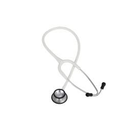 Stéthoscope Duplex | Stéthoscope professionnel | Aluminium | Blanc