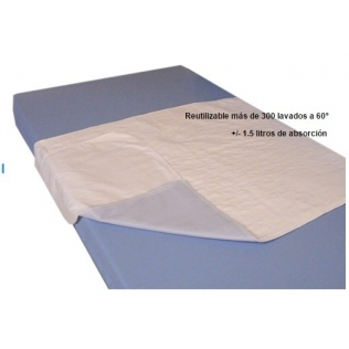 Alèse réutilisable et absorbante pour le lit | Protège matelas en PVC | 4 couches