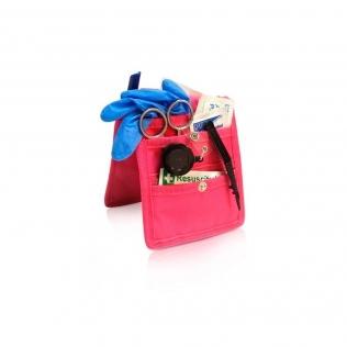 Pochette / organiseur pour infirmier à porter sur la blouse | Rose | Keen's | Elite Bags