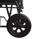 Fauteuil roulant en acier | Pliable | Avec repose-pieds et accoudoirs amovibles | S230 Sevilla | Mobiclinic - Foto 4