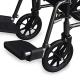 Fauteuil roulant en acier | Pliable | Avec repose-pieds et accoudoirs amovibles | S230 Sevilla | Mobiclinic - Foto 5