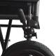 Fauteuil roulant en acier | Pliable | Avec repose-pieds et accoudoirs amovibles | S230 Sevilla | Mobiclinic - Foto 7