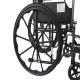 Fauteuil roulant pliable PREMIUM   Acier   Repose-pieds et accoudoirs amovibles   S220 Sevilla   Mobiclinic - Foto 2
