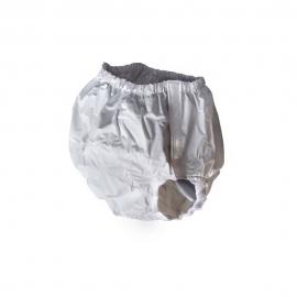 Culotte d'incontinence pour adultes en PVC | avec une fermeture velcro | Taille: 4 (45-60 cm de contour) | réutilisable