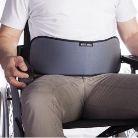 Ceinture abdominale pour fauteuil roulant