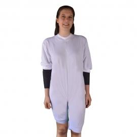 Pyjama pour incontinence en tricot | Manches et jambes courtes | Taille S (38)